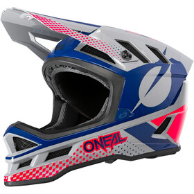 O'Neal Blade Polyacrylite Casco Delta, gray/blue/red